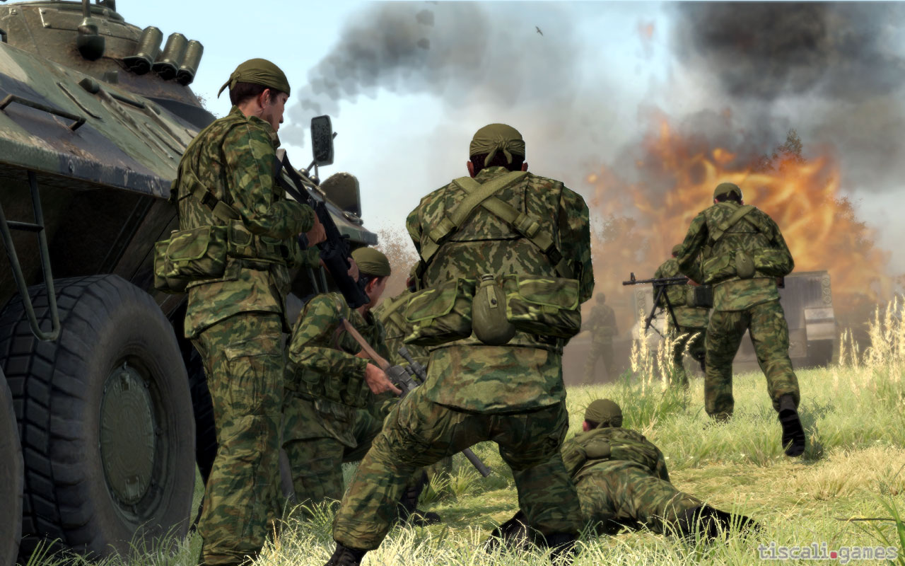 A picture of ARMA II: Free