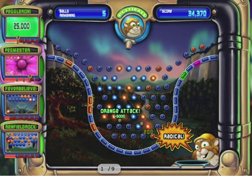 A picture of Peggle Extreme
