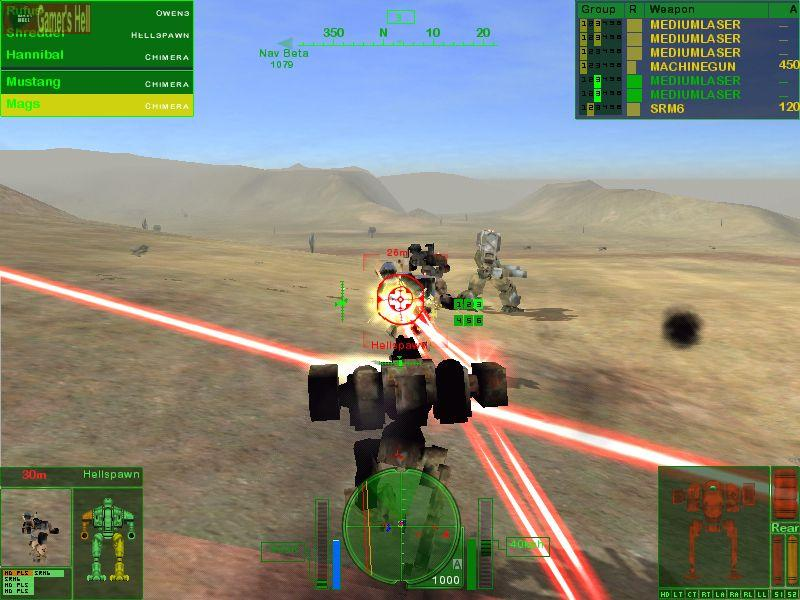 A picture of Mechwarrior 4: Mercenaries