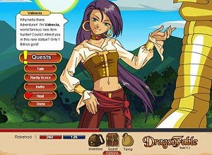 A picture of DragonFable