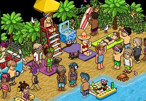 A picture of Habbo