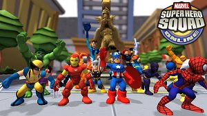 A picture of Marvel Super Hero Squad Online