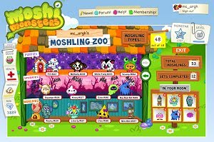 A picture of Moshi Monsters
