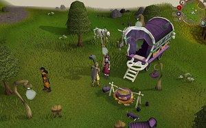 A picture of RuneScape