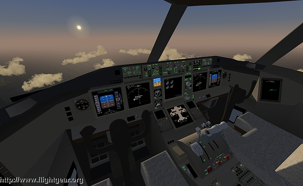 A picture of FlightGear