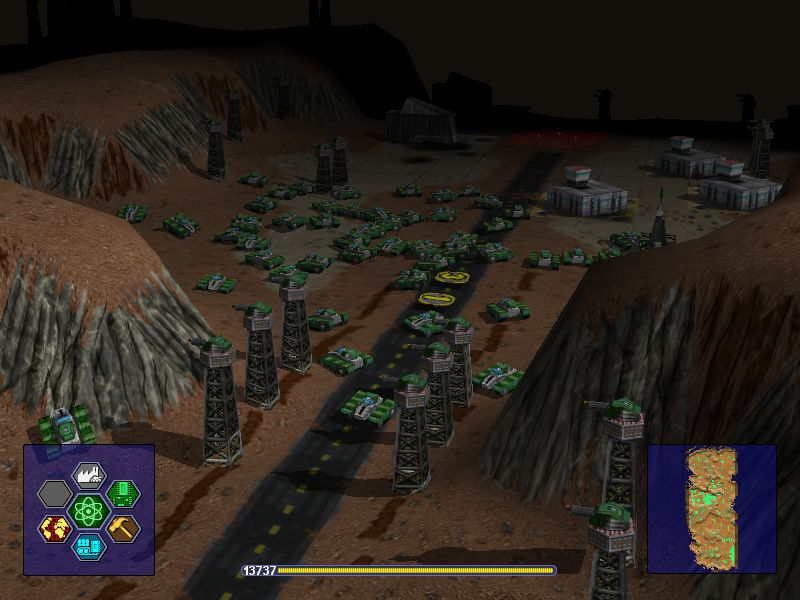 A picture of Warzone 2100