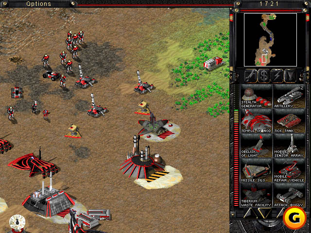 A picture of Command and Conquer: Tiberian Sun
