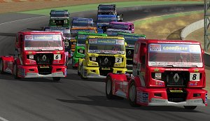 A picture of Truck Racing by Renault Trucks