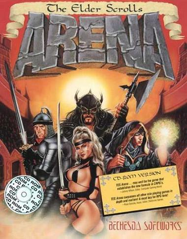 A picture of The Elder Scrolls: Arena