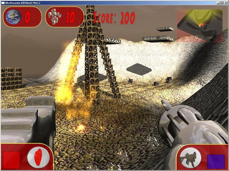 A picture of Blockmania: Kill Blockmen 2