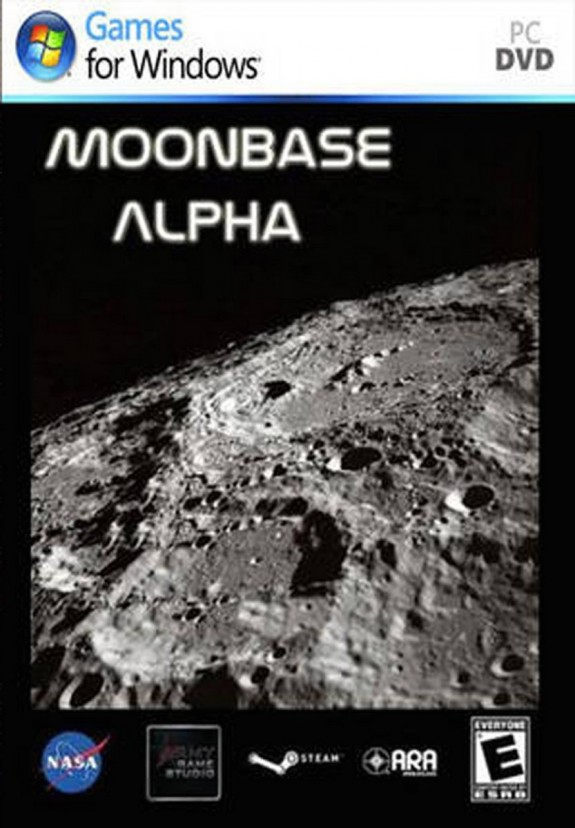A picture of Moonbase Alpha