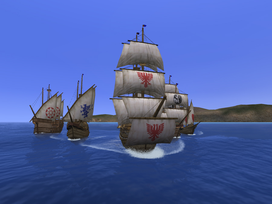 A picture of Uncharted Waters Online