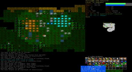A picture of Dungeon Crawl Stone Soup