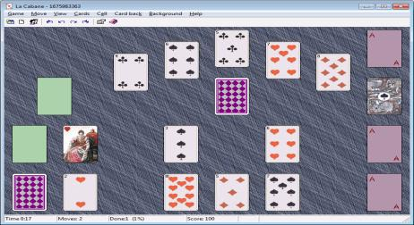 A picture of XM Solitaire