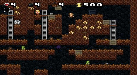 A picture of Spelunky