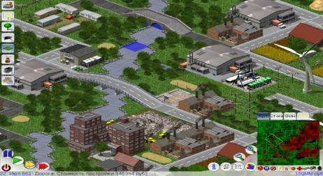A picture of LinCity-NG