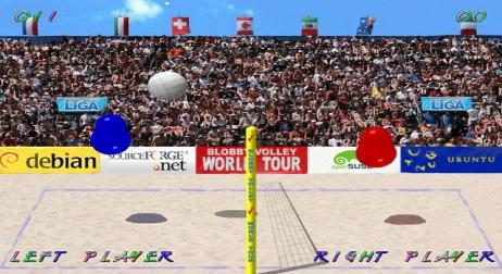 A picture of Blobby Volley 2