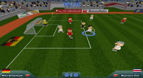 A picture of Slam Soccer 2006