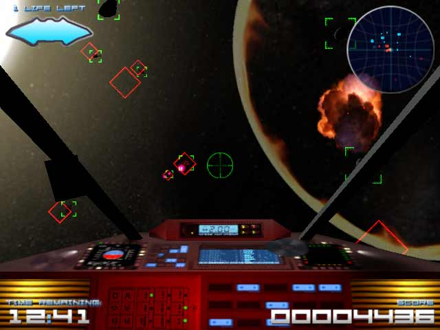 A picture of Asteroids 3D