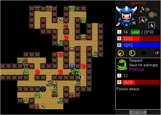 A picture of Desktop Dungeons