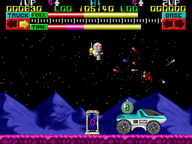 A picture of Lunar Jetman