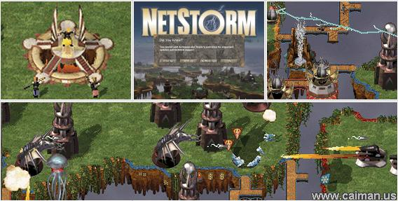 A picture of Netstorm - Islands at War