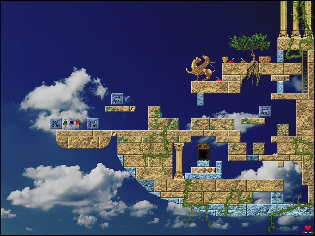 A picture of Quadrax 7 - Quest of Laputa