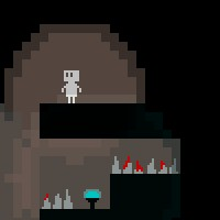 A picture of Broken Cave Robot