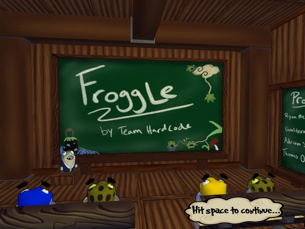 A picture of Froggle