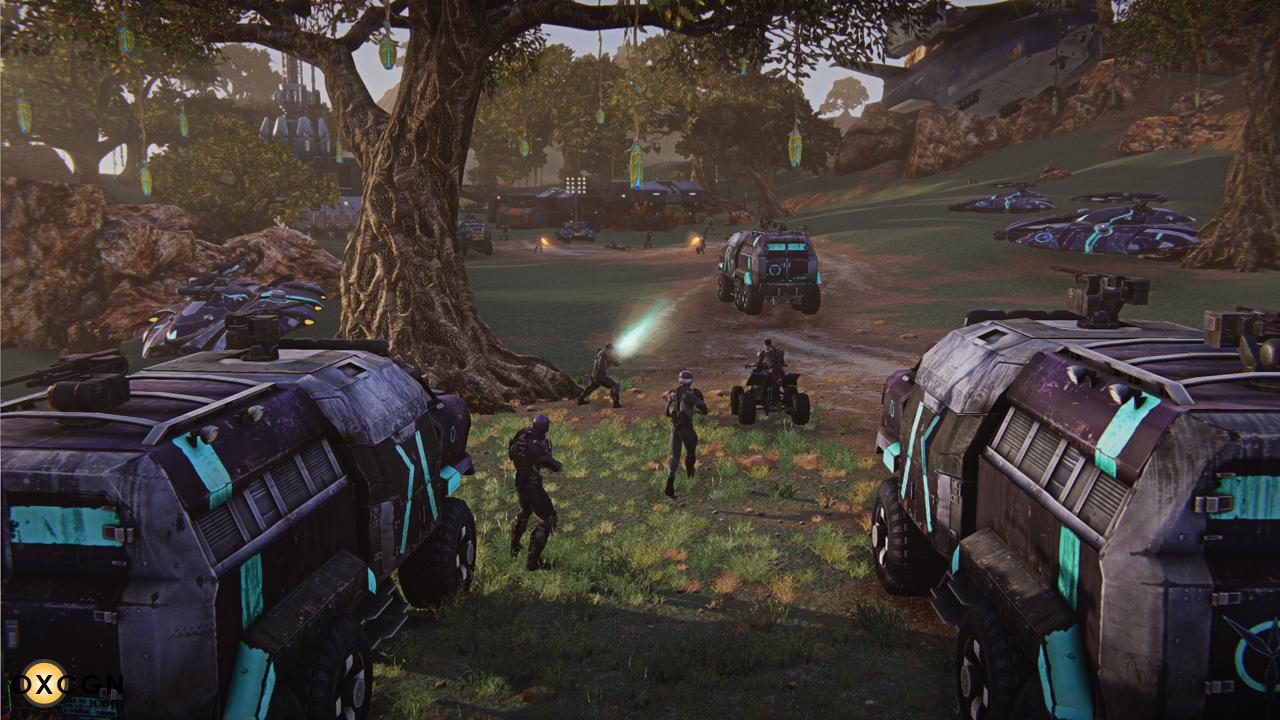 A picture of Planetside 2