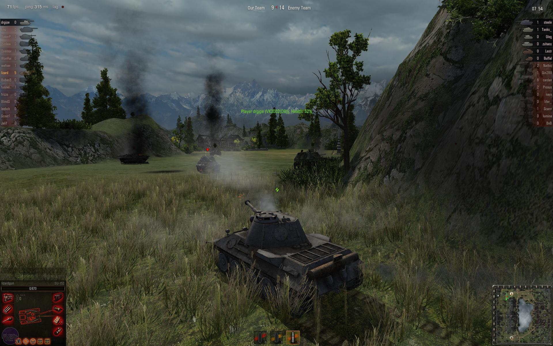 A picture of World of Tanks