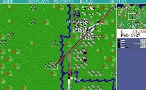 A picture of Railroad Tycoon Deluxe