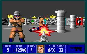 A picture of Wolfenstein 3D